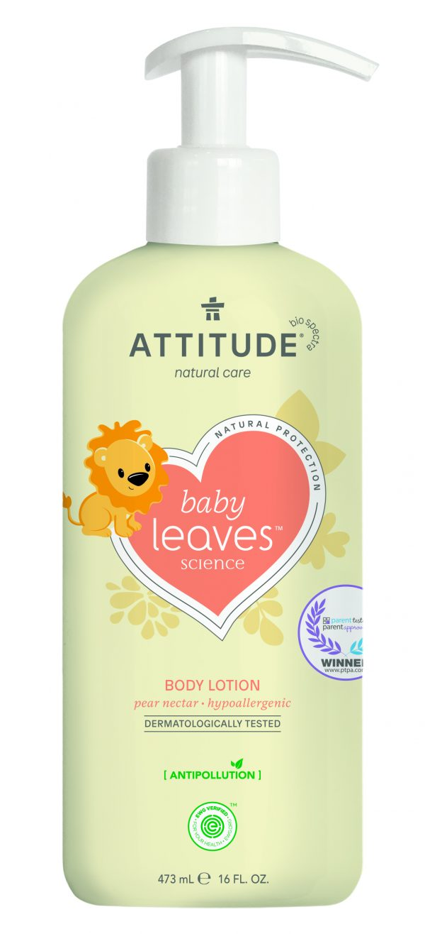 Baby Leaves Body Lotion - Pear Nectar
