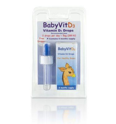 Baby Vit D3 Pure Vitamin D Drops 10.7 ml