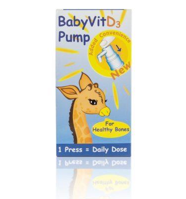 Baby Vit D3 Pure Vitamin D Pump Drops 28ml