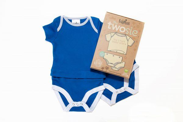 Blue Baby Vest