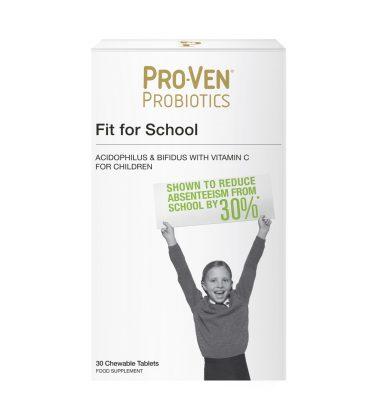 Pro-Ven Probiotics Fit for School 30 Pack