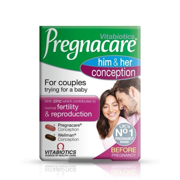 Vitabiotics Pregnacare Him & Her Conception