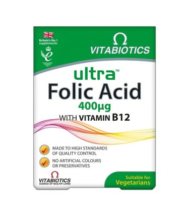 Vitabiotics Ultra Folic Acid