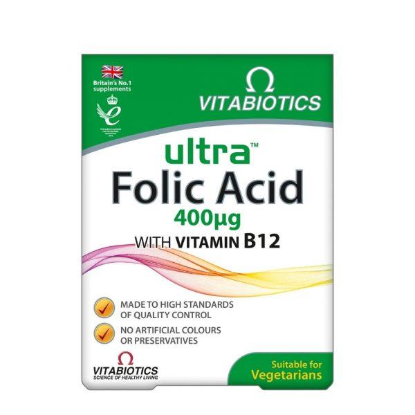 Vitabiotics Ultra Folic Acid